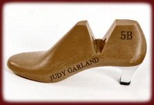 Judy Garland's size 5B shoe last
