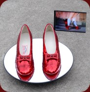 Judy Garland's Ruby Slippers for sale on eBay